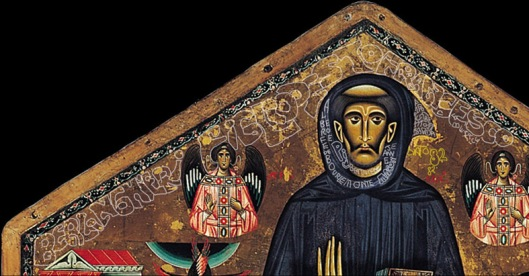 Bonaventura Berlinghieri 'St Francis' (1235): Bonaventura says he is St Francis son