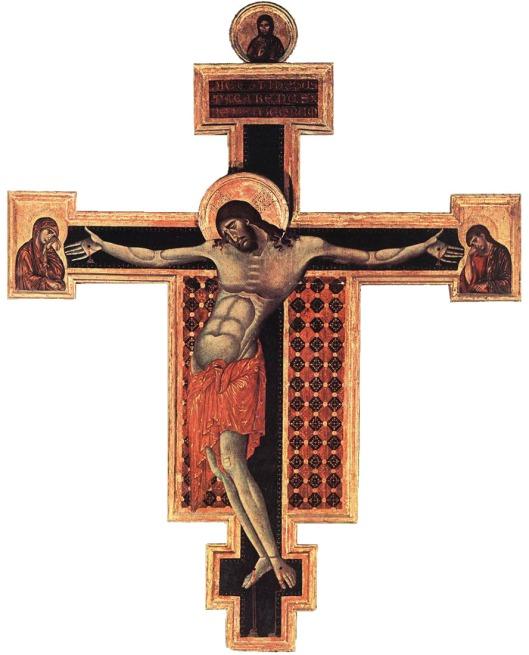 Cimabue: Crucifix,  San Domenico,  Arezzo (1307)