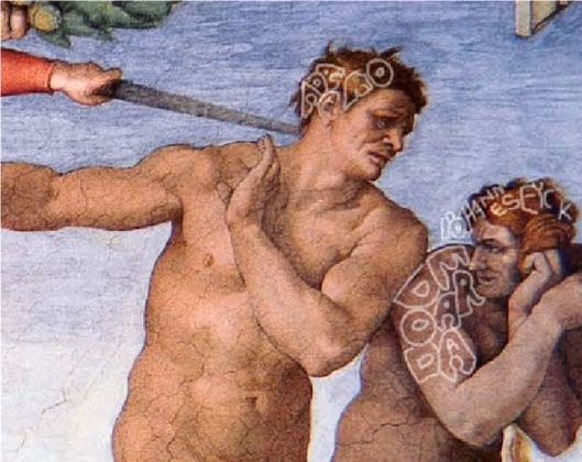Michelangelo  'The Expulsion from Eden'  (1511)