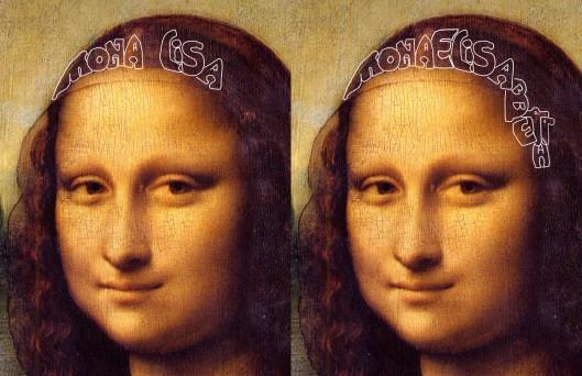 Leonardo da Vinci 'Mona Lisa' (1512): 'Mona Lisa' means 'Lady Elizabeth'