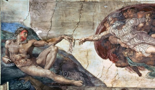 Michelangelo 'The Creation of Adam' (1510)