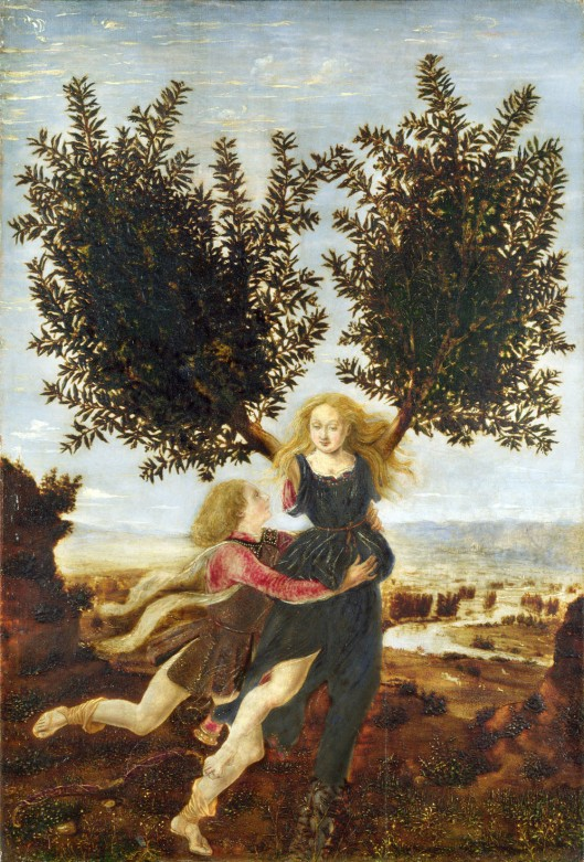 Pollaiuolo 'Apollo and Daphne' (1485)