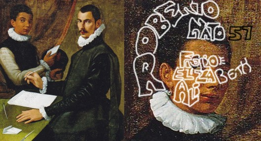 Passarroti: 'Domenico Giuliani and Servant' (1596): Domenico is Roberto, son of Elizabeth and Ali; the white boy is his servant.