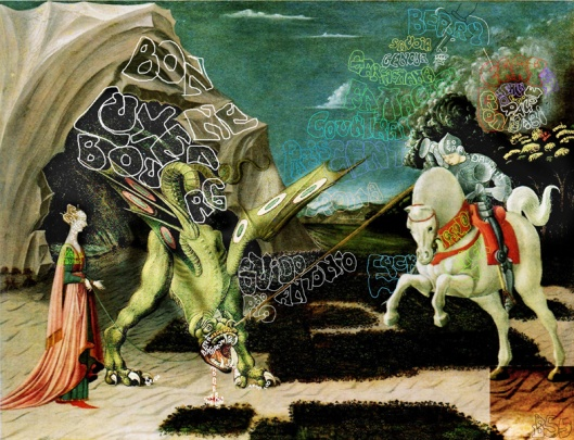 Paolo Uccello 'St George and the Dragon' (1455)