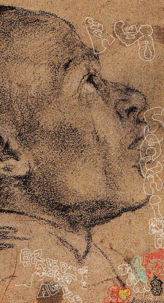 Veronese 'Head of a Black Man' (1558): says that the portrait is of Ali, and that he and Elizabeth were lovers. Ali is calling the name of his son Salai, and saying he loves him.