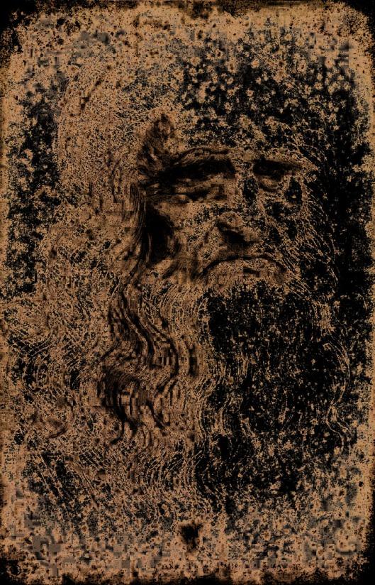 Leonardo SelfPortrait 1525 Lucemes
