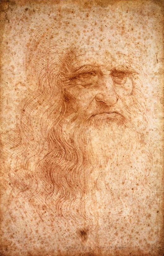 Leonardo SelfPortrait 1525