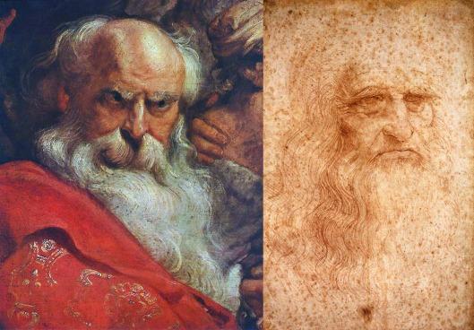 rubens and leonardo portraits