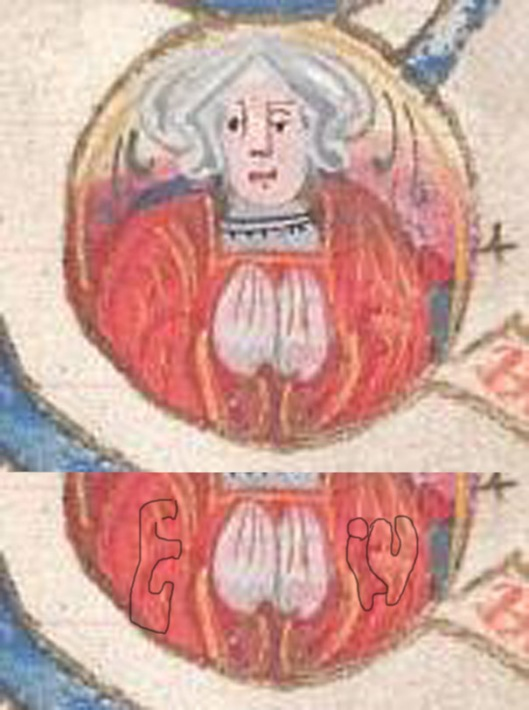 Manuscript Detail featuring Bridget of York