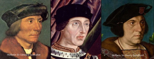 Edward V, Henry VI, and Richard of York. Henry's image adjusted as mentioned in the text.