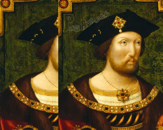 Paris Bordone 'King Henry VIII' 1526