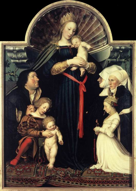Hans Holbein the Younger Darmstadt Madonna' 1528