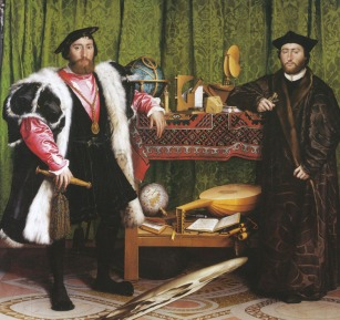 Hans Holbein the Younger 'The Ambassadors' 1535