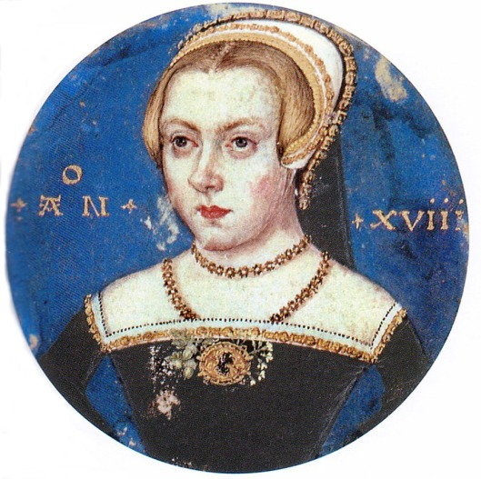 Levina Teerlinc 'Princess Elizabeth Miniature' c.1550