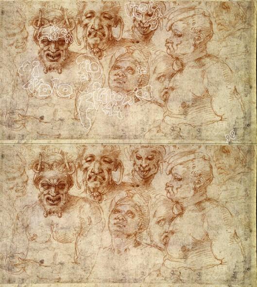 Michelangelo 'African Slaves' 1498