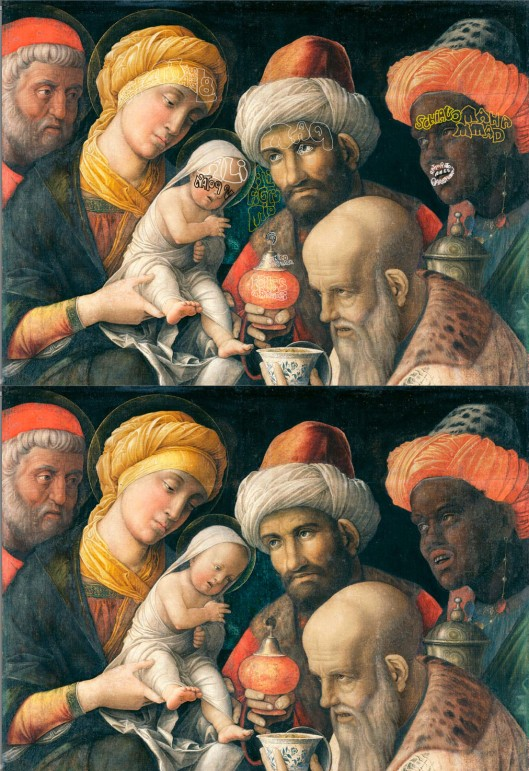 Mantegna 'Three Kings' 1506