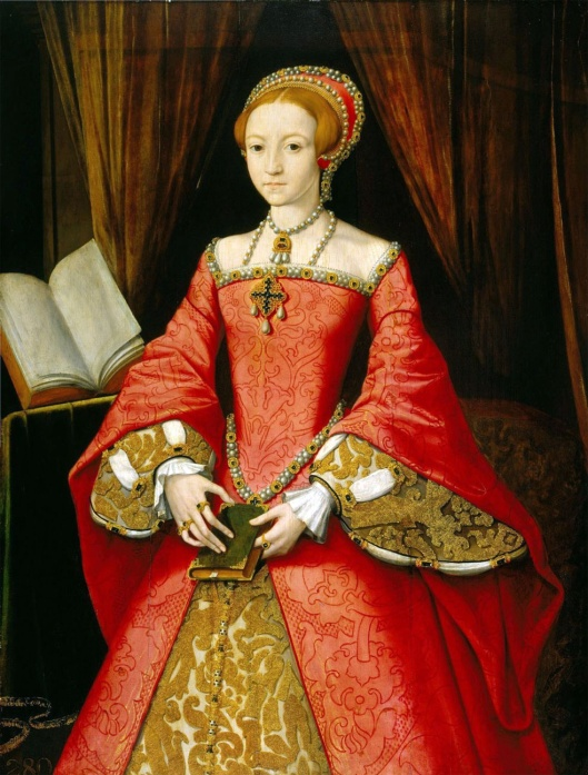 William Scrots 'Princess Elizabeth' 1546