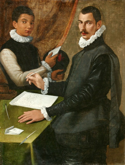 Domenico Giuliani and His Servant, Bartolomeo Passarotti, 1572