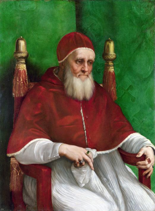 Raphael 'Pope Julius II' 1512