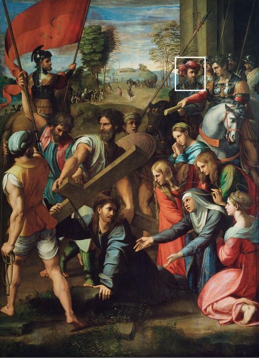 RaphaelChristFallingOnTheWayToCalvary1517