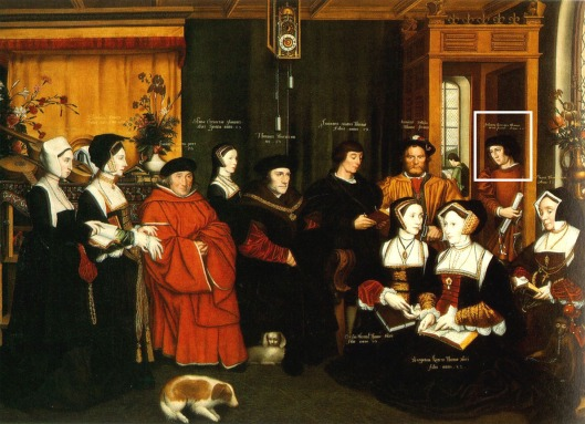Hans Holbein the Younger 'Sir Thomas More and Family' c.1527