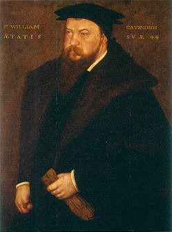 Sir William Cavindish, possibly by John Bettes, 1544