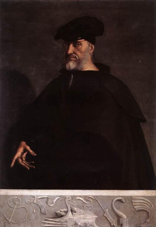 Sebastiano del Piombo: 'Andrea Doria', 1526