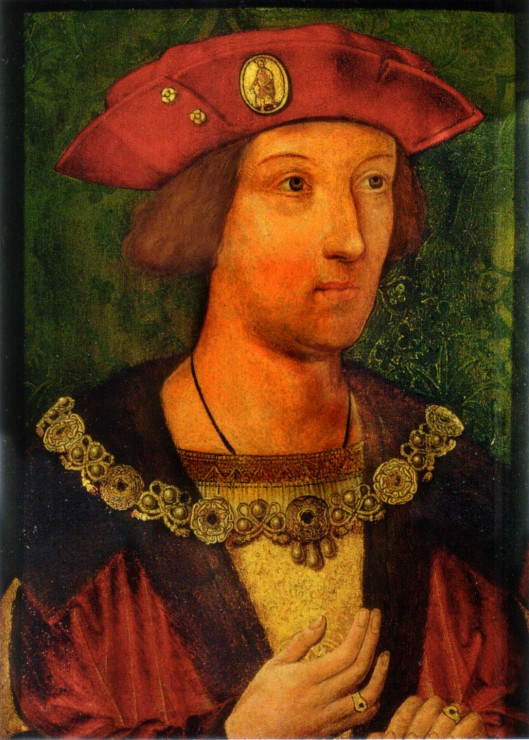 Sir Edward Guildford 'Arthur, Prince of Wales', 1502