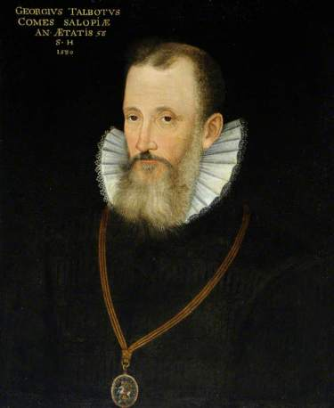 Rowland Lockey 'The Earl of Shrewsbury' 1580