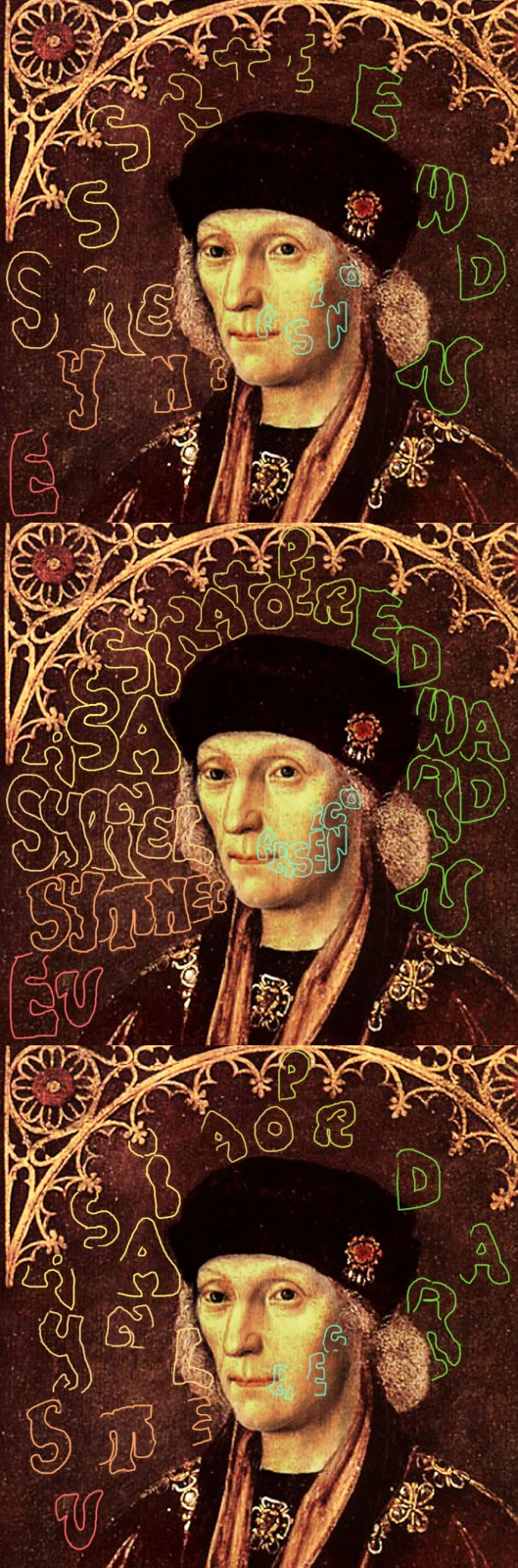Sir Edwrad Guildford 'Henry VII' 1509. Declaration that he murdered Henry with Arsenic