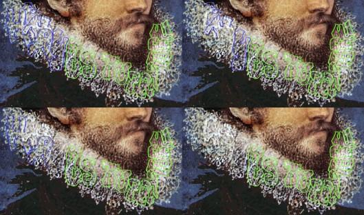 Hilliard 'Self portrait' 1577: Henry named as the rapist.
