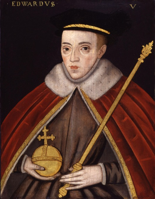 Unknown artist: 'King Edward V', late 16thC