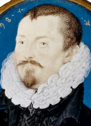 Nicholas Hilliard 'Sir Thomas Bodley' 1598. Founder of the Bodleian Library.