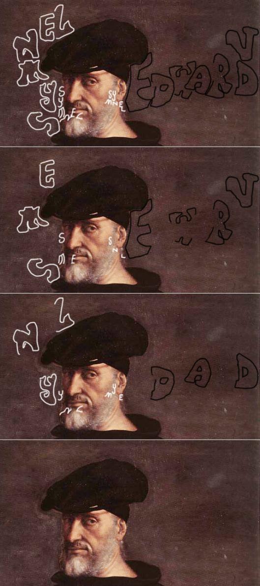 Sebastiano del Piombo: 'Andrea Doria' 1526. Detail of head.