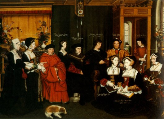 Rowland Lockey 'Sir Thomas More and Family' c1595