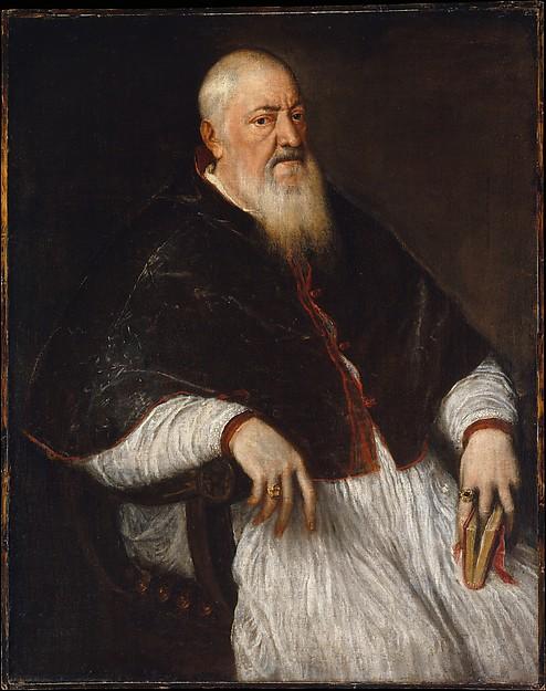 Titian:  'Cardinal Filippo Archinto', 1558.