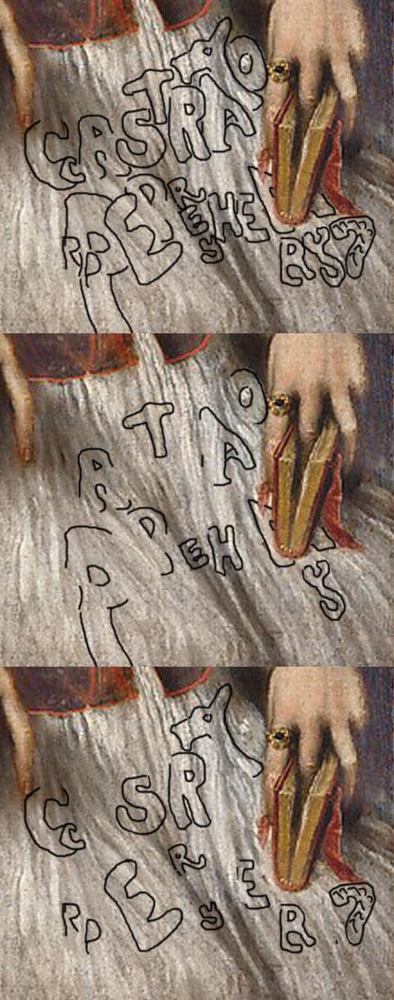 Titian: 'Cardinal Filippo Archinto', 1558: 'castrato'